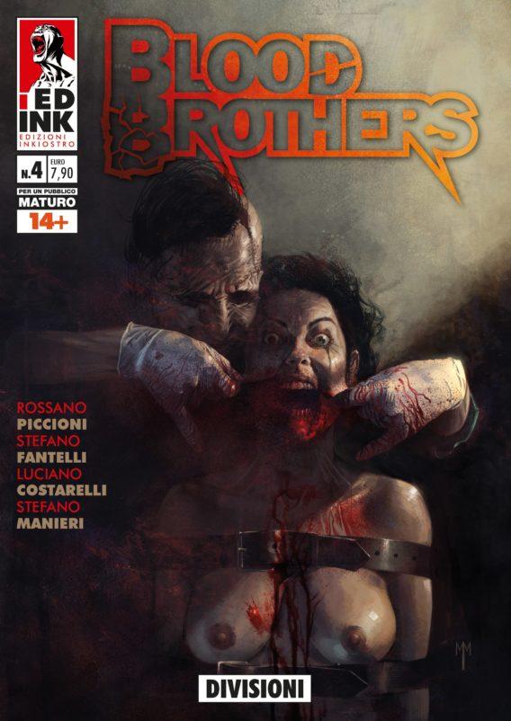 Blood Brothers 2 copertina BIANCA